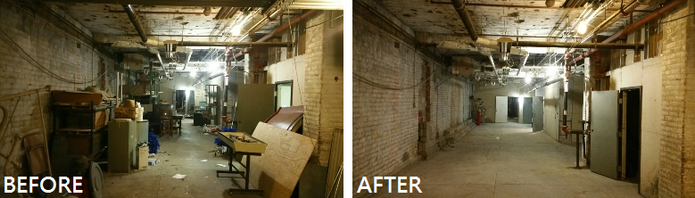 before after honest junk removal